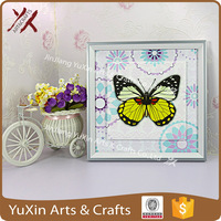 wood frame with ceramic tile for home decoration