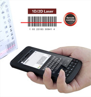 Rugged Android handheld barcode scanner with NFC reader 3G Smart Phone
