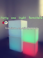 cube shaped charging bar stools light for sale
