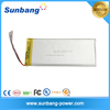 606090 3.7v li-ion polymer battery 4000mah lipo battery for GPS Power bank Tablet PC