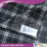 High quality 100% polyester tafeta 190t 210t for suit inner lining
