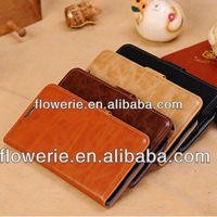 FL3344 2014 high qualtiy credit card holder leather cover case for samsung galaxy note 3 n9000