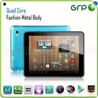 mini tablet pc Android 4.4 quad core quad core made in China