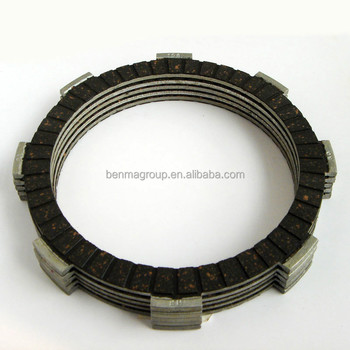 HF Brand super quality motorcycle clutch friction plate