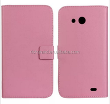 PU Leather slot wallet stand flip Cover Case for Huawei Ascend Mate 6.1