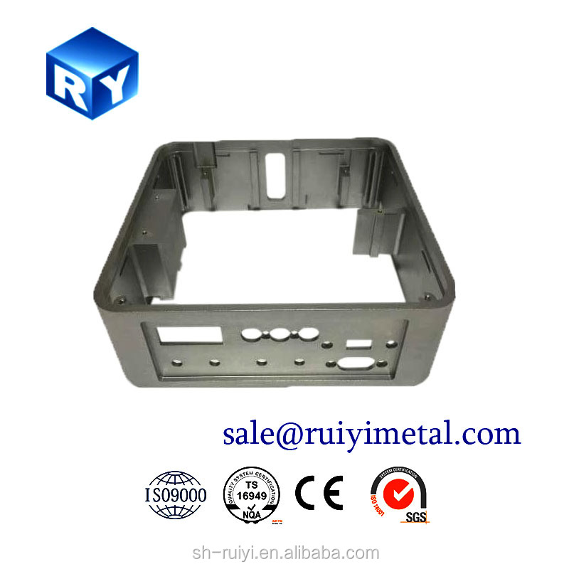 aluminum machining case