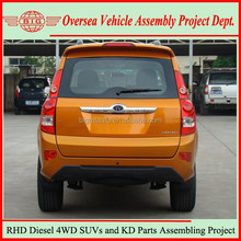 Not Used Toyota Diesel SUVs but New China-made Right Hand Drive China SUV Cars