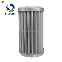 FILTERK G1.0 10 Micron Pleat Gas Separator With Stainless Steel Net