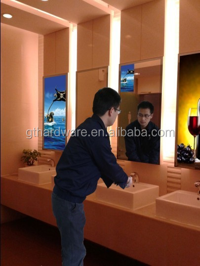 21.5 inch magic mirror screen indoor application tft type lcd advertising displayer/ magic mirror screen lcd digital signage