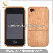 For iphone 4G wood bamboo case