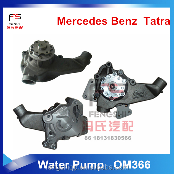 A3662006001 Water Pump OM366 ENGINE for GERMANY truck with high quality