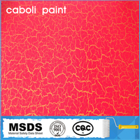 Caboli art wall decorative crack effect acrylic paint on sale for singles day