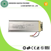 Flat Cell Lithium Polymer Battery 422782 3.7v 1000mAh Flat Lithium Battery 3.7wh