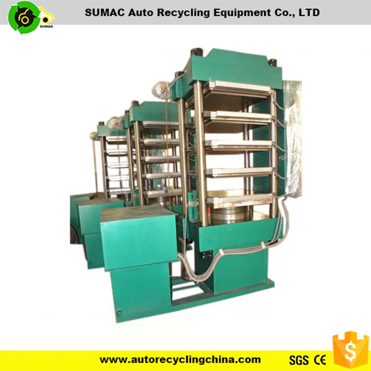Hydraulic Tile Press Vulcanized Rubber Mold machine