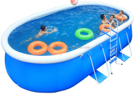 Family and school favourite large inflatable swimming pool