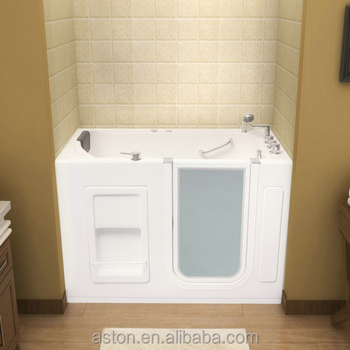 2014 special design barrier free Walk-in Bathtub for Disable with CE&cUPC certification