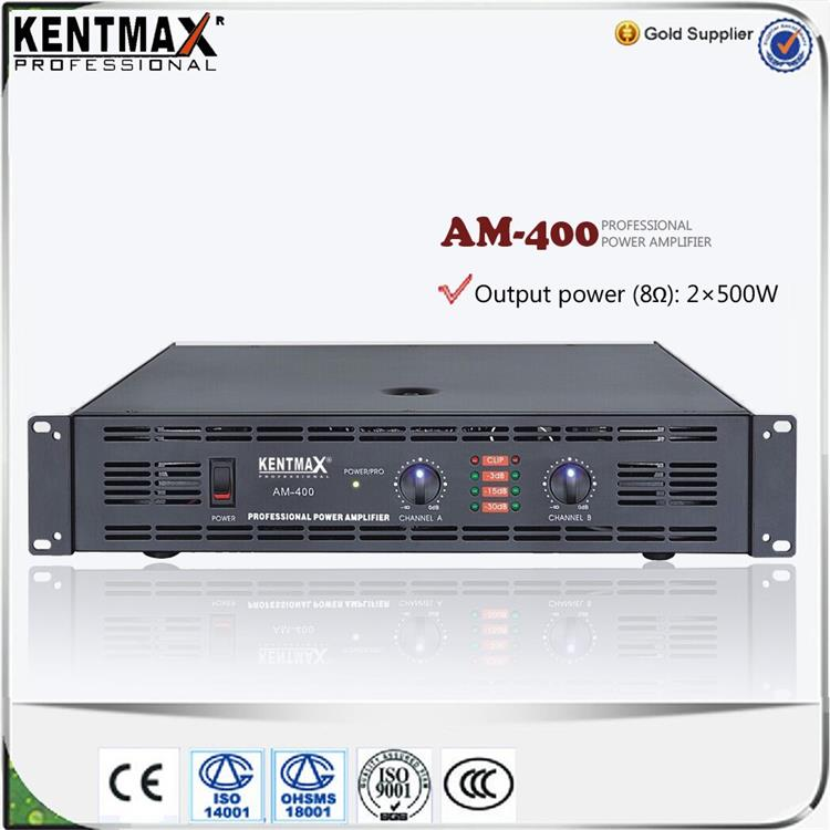 Fashionable Kentmax AM-400 2U Class AB Hifi Tube 500W Amplifier