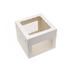 Chiffon cake box,transparent Window cheese cake box,Cupcakes box wholesale