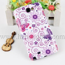 3D Sublimation Blanks Plain Phone Case for Samsung Galaxy N7100 NOTE2 with Coating