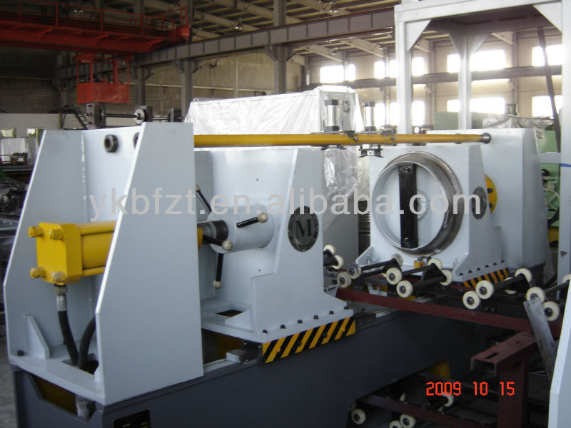 Edge -folding Machine or flanger high speed steel drum manufacturing line or steel barrel manufacturing machine 55 gallon