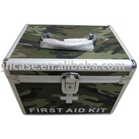 High quality and popular Aluminum First Aid Kit Box