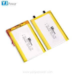 popular rechargeable 3.7v 303759 mini lithium polymer battery 650mah custom size lipo