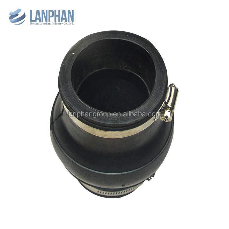 seawater ansi/din clamp type flexible rubber expansion joint