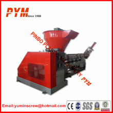 Two step plastic recycling equipment small