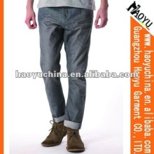 2012 Grey Side Pocket Carrot Jeans (HY1149)
