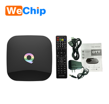 Amlogic S905 2GB RAM 16GB ROM Q Box Android 5.1 Smart TV Set-top Box Dual Band KODI IPTV qbox HD Receiver