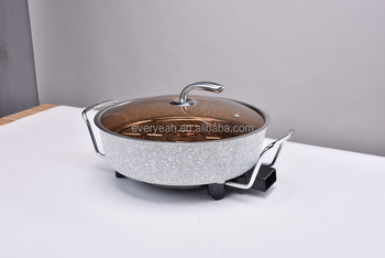 Electric grill pan Frying pan with NON stick lacquer YP-8006-601