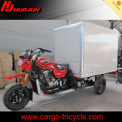 175CC three wheel motorcycle with closed cargo box