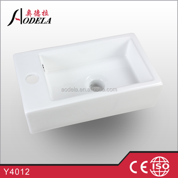 Y4012 bathroom small size art wash basin