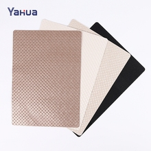 High quality fashion leather placemat manufacturer table mat