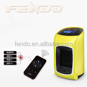 PTC mini desk fan heater, Electric fan heater for home heating fan