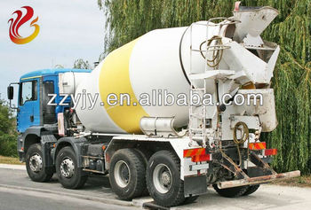 2013 new type concrete mixer transport truck