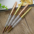 Top quality promotion wedding and festival gift diamond mixed crystal ballpoint pen