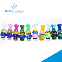 Newest design colorful 510 drip tips various kinds delrin drip tip