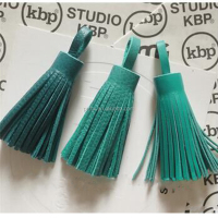 lovely and cute mobile phone mini leather small tassel