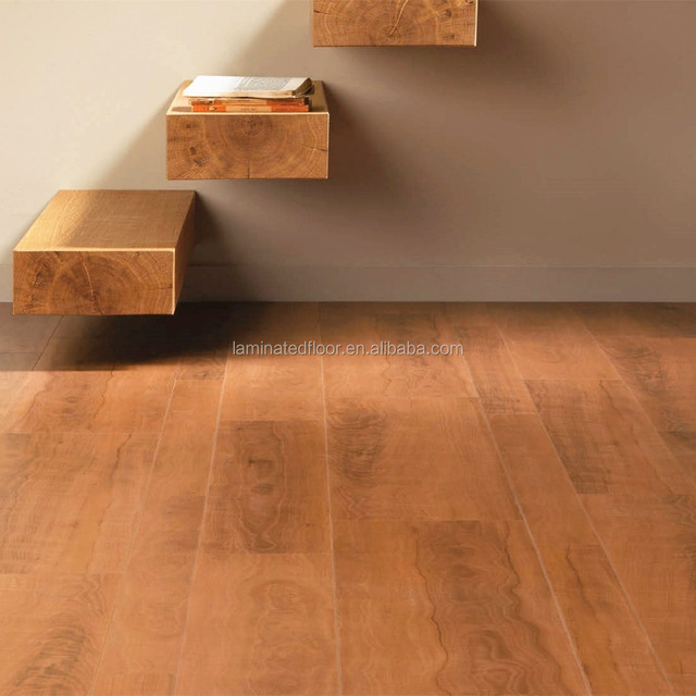 SwiftLock 7-5/8 W x 54-3/8 L Cherry Laminate Flooring