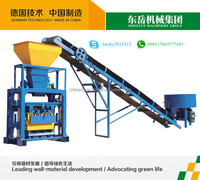 QT40-1 concrete hollow block molding machine price in India