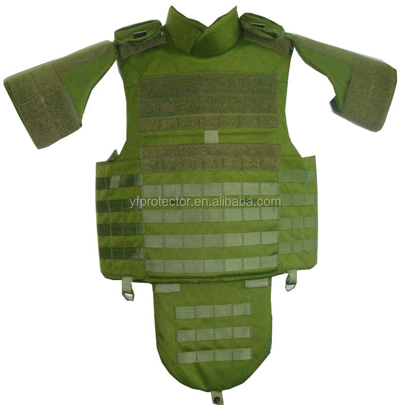 full body armor bulletproof vest