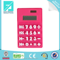 Fupu funny folded silicone waterproof calculator