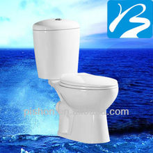 Western Style economy toilet commode bathroom sanitary ware
