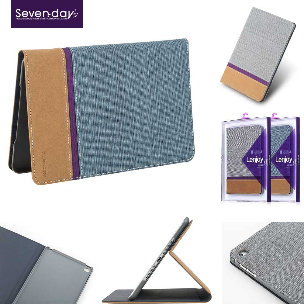 X-level Newest Design Zebra-stripe Leather Case for ipad air