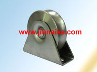 fence parts rolling gate wheels,sliding roller wheels