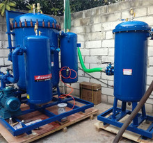 Multi function 500 tons daily water separation diesel fuel refinery for oil depot fishing industry with reusable filters