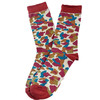 New Men Casual Middle Socks Camouflage