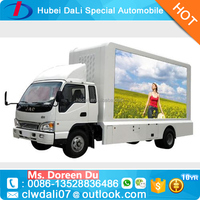 P10 Full Color Commercial Advertising Outdoor Mobile Led Screen Truck for sale