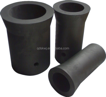 High density Graphite Crucible for melting metal